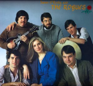 Jamie and The Rogues, album cover, 1986