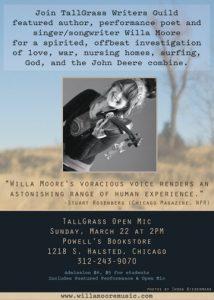 Willa Moore Postcard (Back)