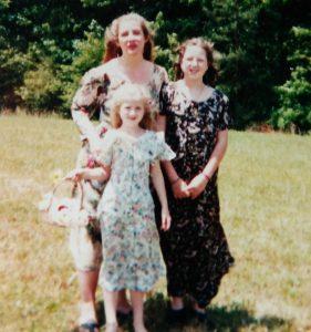 Jamie, Meg, Nia '95